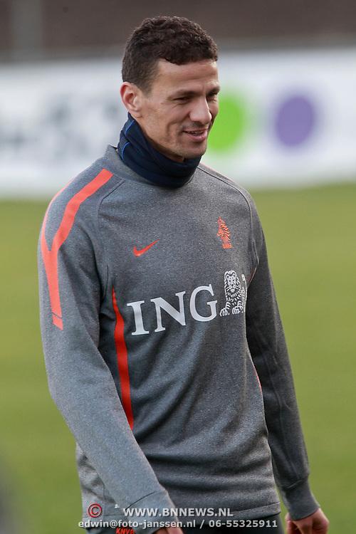 NLD/Katwijk/20110321 - Training Nederlandse Elftal Hongarije - NLD, Khalid Boularouz