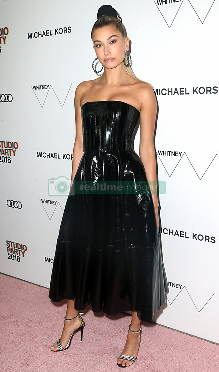 2018 Whitney Studio Party. 22 May 2018 Pictured: Hailey Rhode Baldwin. Photo credit: TPG/MEGA TheMegaAgency.com +1 888 505 6342