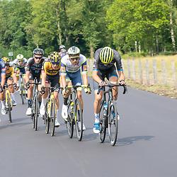 WIJSTER (NED) June 20: <br /> CYCLING <br /> Dutch Nationals Road Men up and around the Col du VAM<br /> Boy VAN POPPEL , Sjoerd Bax, Martijn Tusveld, Oscar Riesebeek