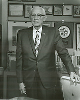 1970 Charles E. Toberman in his office