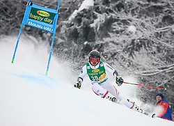 Marcel Mathis of Austria competes during 1st run of Men's GiantSlalom race of FIS Alpine Ski World Cup 57th Vitranc Cup 2018, on March 3, 2018 in Kranjska Gora, Slovenia. Photo by Ziga Zupan / Sportida