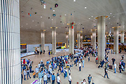 Israel, Ben-Gurion international Airport, Terminal 3, arrival's hall