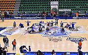 Tifosi Orgoglio Biancoblu, Jack Cooley<br /> Banco di Sardegna Dinamo Sassari - AX Armani Exchange Olimpia Milano<br /> LBA Serie A Postemobile 2018-2019 Playoff Semifinale Gara 3<br /> Sassari, 02/06/2019<br /> Foto L.Canu / Ciamillo-Castoria