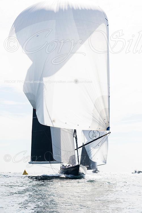Topaz sailing in the J Class World Championship.