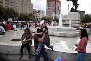 Bicentennial celebrations in Mexico City, Wednesday Sept. 15, 2010. Today Mexico celebrates the 200th anniversary of its 1810 independence uprising.