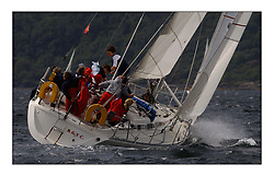 Yachting- The first days inshore racing  of the Bell Lawrie Scottish series 2002 at Tarbert Loch Fyne. Near perfect conditions saw over two hundred yachts compete. <br />Supertramp IV - Sigma 38 6461C/6451C class 3<br />Pics Marc Turner / PFM
