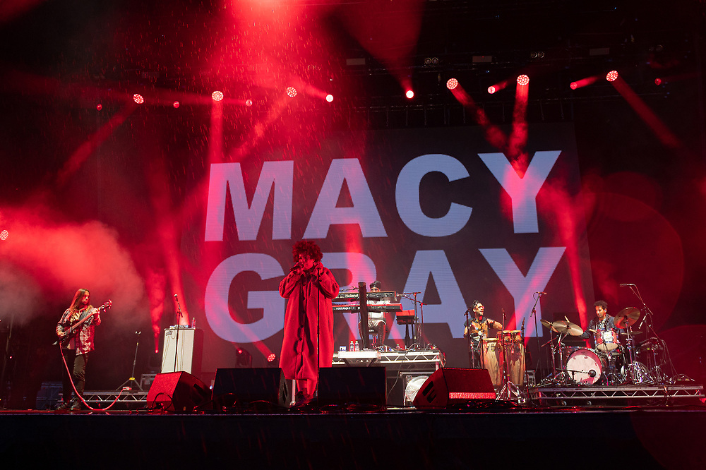 Macy Gray at The Playground Festival  Rouken Glen Park, Glasgow, Scotland 26-09-21