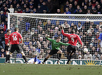 Richard Naylor scores.<br /> Ipswich Town v Nottingham Forest. Coca Cola Championship. 12/03/05. Picture by Barry Bland
