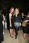 Anahita Resort launch party. Wallace Collection. London. 12 September 2007. ( Photo by Dafydd Jones)  Olivia Inge;Alexia Inge -DO NOT ARCHIVE-© Copyright Photograph by Dafydd Jones. 248 Clapham Rd. London SW9 0PZ. Tel 0207 820 0771. www.dafjones.com.
