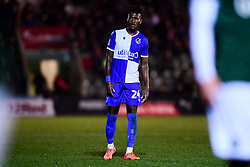 Rollin Menayese of Bristol Rovers - Mandatory by-line: Ryan Hiscott/JMP - 17/12/2019 - FOOTBALL - Home Park - Plymouth, England - Plymouth Argyle v Bristol Rovers - Emirates FA Cup second round replay