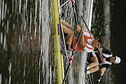 2006 FISA World Cup, Lucerne,  SWITZERLAND, 07.07.2006.  NED M1X Sjoerd HAMBURGER, Photo  Peter Spurrier/Intersport Images email images@intersport-images.com.[Friday Morning]...[Mandatory Credit Peter Spurrier/Intersport Images... Rowing Course, Lake Rottsee, Lucerne, SWITZERLAND.