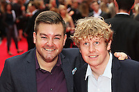 Alex Brooker, Josh Widdicombe, The Bad Education Movie - World Film Premiere, Leicester Square, London UK, 20 August 2015, Photo by Richard Goldschmidt