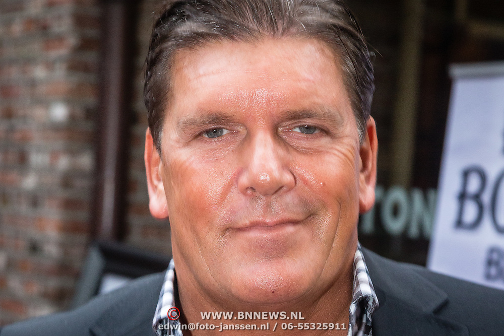 NLD/Laren/20160925 - Frank Masmeijer in Laren voor opname nieuw tv programma, Frank
