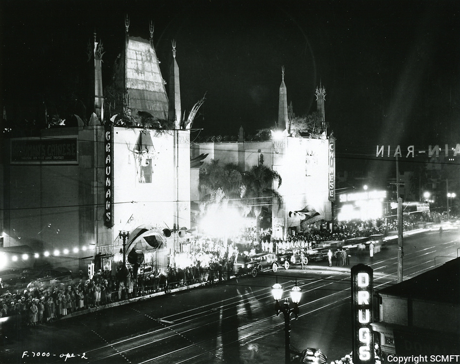 1930 Premiere at Grauman's Chinese Theater