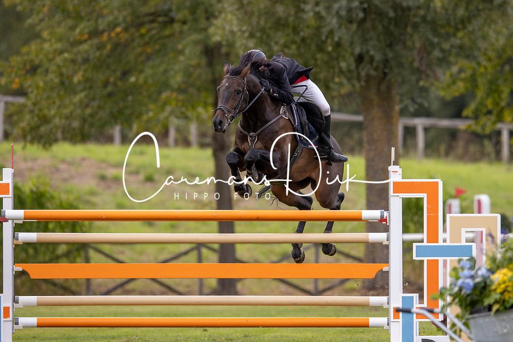 Ooms Tim, BEL, Kyba van de Jomaheide<br /> Nationaal Kampioenschap LRV Paarden<br /> Lummen 2020<br /> © Hippo Foto - Dirk Caremans<br /> 26/09/2020