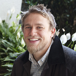 October 6, 2011 - Hollywood, California, U.S. - CHARLIE HUNNAM of the television series ''Sons of Anarchy'' in Hollywood. Charles Matthew Hunnam (born April 10, 1980) is an English actor. He is known for his roles as Jackson 'Jax' Teller in the FX drama series Sons of Anarchy (2008-14), Nathan Maloney in the Channel 4 drama Queer as Folk (1999-2000), Lloyd Haythe in the Fox comedy series Undeclared (2001-02), the title role in Nicholas Nickleby (2002), Pete Dunham in Green Street (2005), and Raleigh Becket in Pacific Rim (2013), Crimson Peak (2015), The Lost City of Z (2016), Papillon (2017), King Arthur: Legend of the Sword (2017).  (Credit Image: © Armando Gallo via ZUMA Studio)