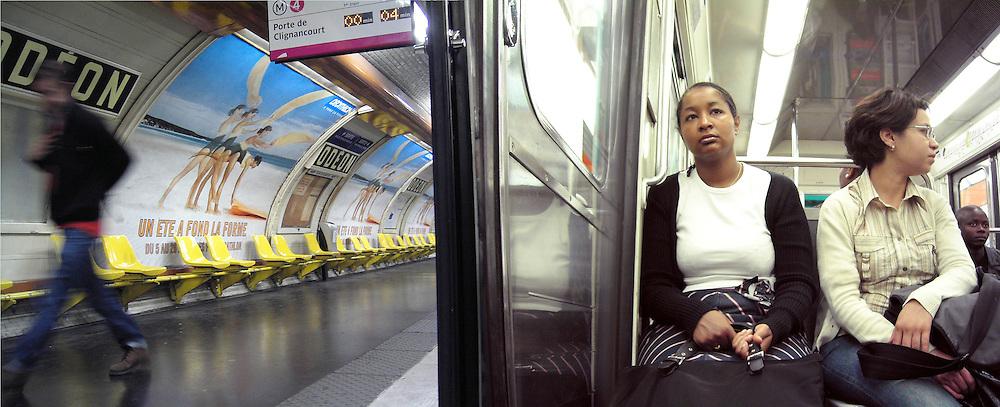 Paris Metro.
