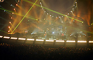 Pink Floyd Live at Earls Court, London, Britain - October 1994.