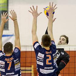 20171222: SLO, Volleyball - Pokal Slovenije 2017, Polfinale M, ACH Volley vs OK Hoce