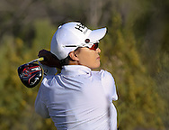 21 MAR15 Korean Pioneer Se Ri Pak during Saturday's delayed Third Round of the JTBC Founder's Cup at The Wildfire Golf Club in Scottsdale, Arizona. (photo credit : kenneth e. dennis/kendennisphoto.com)