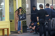 Freida Pinto appeared on the second day of shooting scenes - 30 Mar 2019