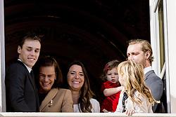 Louis Ducruet, Prinzessin Stefanie von Monaco, India Casiraghi, Pierre Casiraghi bei den Feierlichkeiten zum Nationalfeiertag in Monaco / 191116<br /> <br /> ***National Day in Monaco, November 19th, 2016***