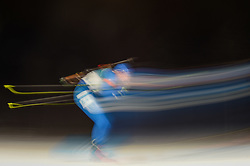 February 11, 2018 - Pyeongchang, Gangwon, South Korea - Lowell Bailey of United States at Mens 10 kilometre sprint Biathlon at olympics at Alpensia biathlon stadium, Pyeongchang, South Korea on February 11, 2018. (Credit Image: © Ulrik Pedersen/NurPhoto via ZUMA Press)