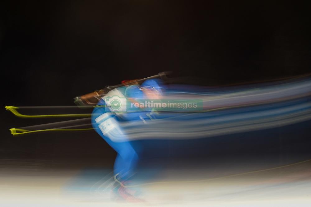 February 11, 2018 - Pyeongchang, Gangwon, South Korea - Lowell Bailey ofUnited States at Mens 10 kilometre sprint Biathlon at olympics at Alpensia biathlon stadium, Pyeongchang, South Korea on February 11, 2018. (Credit Image: © Ulrik Pedersen/NurPhoto via ZUMA Press)