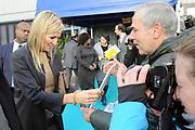 """Prinses Maxima bij FMO conferentie 'The Future of Banking' <br /> <br /> Prinses Maxima houdt een toespraak tijdens de conferentie 'The Future of Banking' van de Nederlandse Financierings-Maatschappij voor Ontwikkelingslanden. De prinses spreekt in haar functie als speciale pleitbezorger van de secretaris-generaal van de Verenigde Naties.<br /> <br /> Princess Maxima at FMO conference 'The Future of Banking'<br /> <br /> Princess Maxima delivers a speech at the conference """"The Future of Banking 'by the Dutch Finance Company for Developing Countries. The princess speaks in its function as a special advocate of the Secretary-General of the United Nations."""