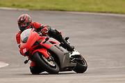 Adam Pratt on a 2004 Honda CBR-1000RR at Hallett Raceway in Oklahoma
