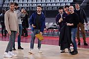 Gregorio Paltrinieri Giacomo Ferrara Filippo Nigro<br /> Virtus Roma - Givova Scafati<br /> Campionato Basket LNP 2018/2019<br /> Roma 14/04/2019<br /> Foto Gennaro Masi / Ciamillo-Castoria