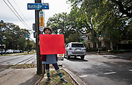 """Miranda Webb, sixth-grader at Morris Jeff School in New Orleans, skipped a field trip to a video arcade to join the school strike. """"We don't really have another planet to go to. We don't have a plan B,"""" Webb said. """"We have to stop climate change now or it's going to get terrible."""""""