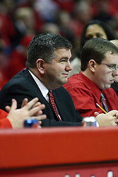 13 January 2012:  Todd Kober during an NCAA Missouri Valley Conference mens basketball game where the Creighton Bluejays topped the Illinois State Redbirds 87-78 in Redbird Arena, Normal IL