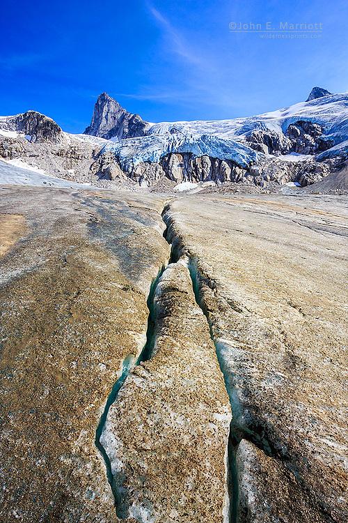 The Dartmouth Glacier, Bugaboos Mountain Range, BC, Canada