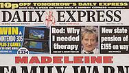 Rod Stewart / Daily Express / April 2011
