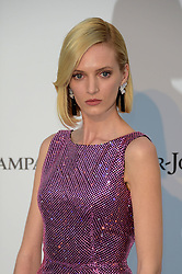 Daria Strokous attending the 26th amfAR Gala held at Hotel du Cap-Eden-Roc during the 72nd Cannes Film Festival.