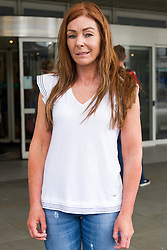 June 16, 2018 - London, London, United Kingdom - Charlotte Caldwell. .Charlotte Caldwell attending the press outside the Chelsea and Westminster Hospital...The Home Office has released the medicinal cannabis oil it confiscated from Billy Caldwell's family, who had been using it to treat his severe epilepsy. The government backdown came shortly after the 12-year-old's mother, Charlotte, said she was confident the Home Office would grant a special licence so her son could be treated with the anti-epileptic cannabis medicine. (Credit Image: © Gustavo Valiente/i-Images via ZUMA Press)