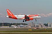 OE-LQW easyJet Europe Airbus A319-111 at Malpensa (MXP / LIMC), Milan, Italy