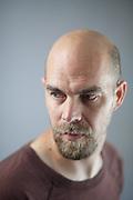 Portrait de Pierre Gilbert, webmaster // Portrait of Pierre Gilbert, webmaster, France.