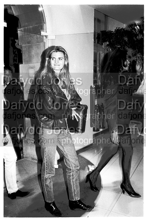 suzannah constantine, London. 1991,<br /> <br /> SUPPLIED FOR ONE-TIME USE ONLY> DO NOT ARCHIVE. © Copyright Photograph by Dafydd Jones 248 Clapham Rd.  London SW90PZ Tel 020 7820 0771 www.dafjones.com