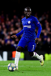 Ngolo Kante of Chelsea - Mandatory by-line: Ryan Hiscott/JMP - 10/12/2019 - FOOTBALL - Stamford Bridge - London, England - Chelsea v Lille - UEFA Champions League group stage