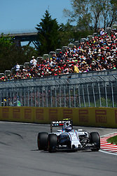 06.06.2015, Circuit Gilles Villeneuve, Montreal, CAN, FIA, Formel 1, Grand Prix von Kanada, Qualifying, im Bild Valtteri Bottas (FIN) Williams FW37 // during Qualifyings of the Canadian Formula One Grand Prix at the Circuit Gilles Villeneuve in Montreal, Canada on 2015/06/06. EXPA Pictures © 2015, PhotoCredit: EXPA/ Sutton Images/ Patrick Vinet<br /> <br /> *****ATTENTION - for AUT, SLO, CRO, SRB, BIH, MAZ only*****