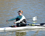 Boston, Great Britain. Women's Single Scull GBR W1X . Holly GAME,  compete's in the 2013 GBRowing second assessment, Boston Rowing Club, River Witham, Lincolnshire.    Saturday  09/02/2013   [Mandatory Credit. Peter Spurrier/Intersport Images]