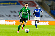 Birmingham City's Ivan Sanchez (17) in action during the EFL Sky Bet Championship match between Cardiff City and Birmingham City at the Cardiff City Stadium, Cardiff, Wales on 16 December 2020.