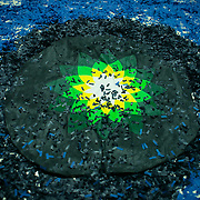 Water ceremonies at the British Museum - art activism by Bp or not BP