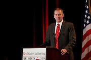 Michael Quinn Sullivan, president and CEO of Empower Texans, speaks during the 2014 RedState Gathering at the Worthington Renaissance Hotel in Fort Worth, Texas on August 9, 2014. (Cooper Neill for The Texas Tribune)