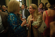 LADY ANTONIA PINTER; KATIE HICKMAN, Drinks to celebrate the 60th anniversary of the Times Cheltenham Literature festival. Hosted by James Harding editor of the Times and the Directors of the Cheltenham Festival. The London Library. St. James's Sq. 23 September 2009.