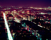 """ackroyd_C00531-2""""Portland at night from Nachand home. January 15, 1960. (Nachand home was at 2408 SW Chelmsford)"""