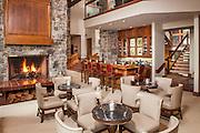 Riverbend Lodge Lobby and Bar, Saratoga, WY