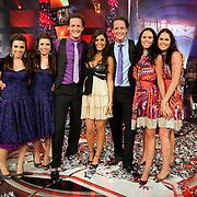 NLD/Baarn/20080515 - Finale Tros Twinzz 2008, Nina & Laura, Joyce & Vivian, Rick & Bob